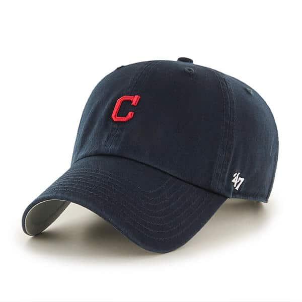 Cleveland Indians 47 Brand Abate Clean Up Navy Adjustable Hat