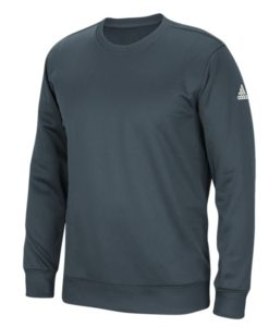 Men's Adidas Gray Climawarm Techfleece Crew Pullover