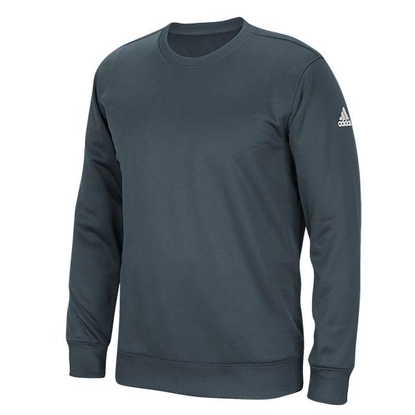 Men's Adidas Gray Climawarm Techfleece Crew Pullover