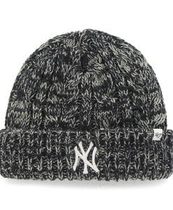 New York Yankees Women's 47 Brand Navy Prima Cuff Knit Hat