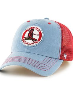 St. Louis Cardinals 47 Brand Classic Columbia Stretch Fit Hat