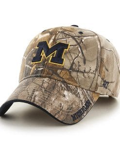 Michigan Wolverines 47 Brand Camo MVP Realtree Frost Hat