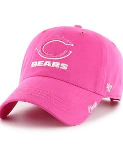 Chicago Bears Women's 47 Brand Pink Clean Up Hat