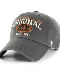Original Six 47 Brand Henrick Charcoal Clean Up Adjustable Hat
