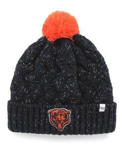 Chicago Bears 47 Brand Women's Navy Fiona Cuff Knit Hat