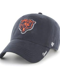 Chicago Bears 47 Brand Women's Clean Up Miata Navy Hat