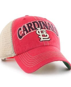 St. Louis Cardinals Tuscaloosa Clean Up Vintage Red 47 Brand Adjustable Hat