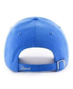 timeless design 19021 91471 Detroit Lions 47 Brand Women s Blue Raz Sparkle Adjustable Hat