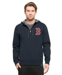 Boston Red Sox 47 Brand Men's Navy Compete Pullover Hoodie