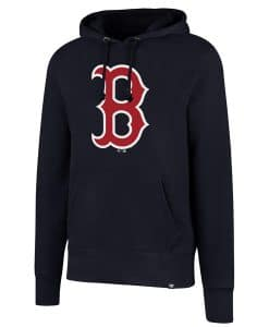Boston Red Sox Men's 47 Brand Navy Headline Pullover Hoodie