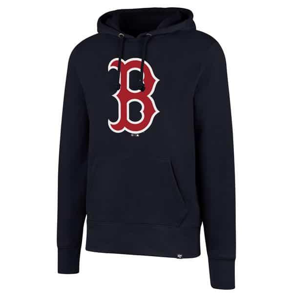 f23c8255 Boston Red Sox Men's XXL 47 Brand Navy Headline Pullover Hoodie