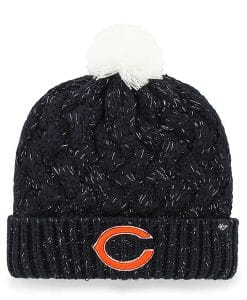 Chicago Bears INFANT / TODDLER 47 Brand Fiona Cuff Knit Navy Hat