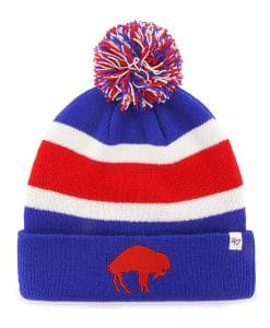 Buffalo Bills 47 Brand Sonic Blue Breakaway Cuff Knit Hat