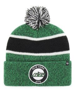 New York Jets 47 Brand Vintage Legacy Green Cuff Knit Hat
