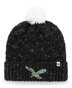 5e04bc8d0c38a Philadelphia Eagles 47 Brand INFANT Classic Black Fiona Cuff Knit Hat