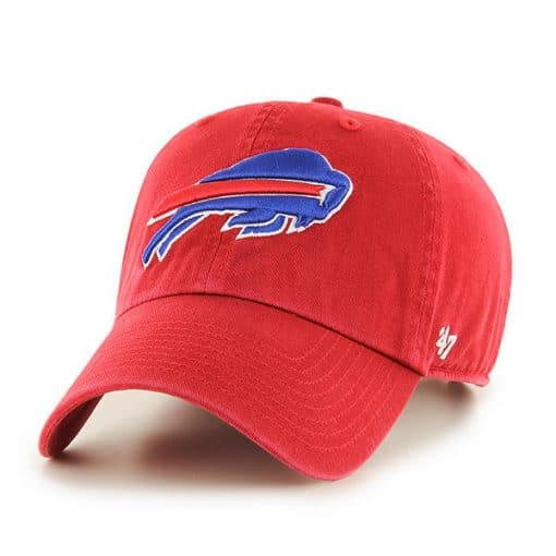 Buffalo Bills 47 Brand Clean Up Red Adjustable Hat