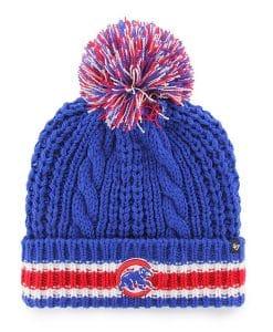 Chicago Cubs Women's 47 Brand Blue Sorority Cuff Knit Hat