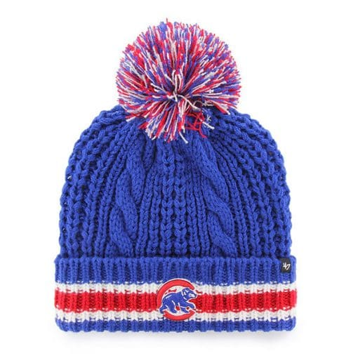 Chicago Cubs Women's 47 Brand Blue Sorority Cuff Knit Hat