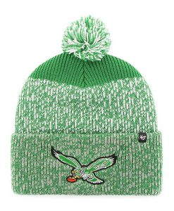 Philadelphia Eagles 47 Brand Green Static Cuff Knit Hat