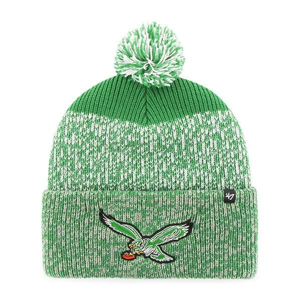 af8578a71cd0ef Philadelphia Eagles 47 Brand Green Static Cuff Knit Hat - Detroit Game Gear