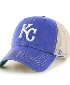 Kansas City Royals 47 Brand Trawler Royal Clean Up Adjustable Hat