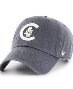 956c554df9a Chicago Cubs 47 Brand Vintage Navy Cooperstown Clean Up Adjustable Hat
