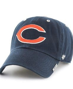 Chicago Bears 47 Brand Ice Navy Adjustable Hat