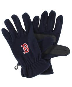 Boston Red Sox 47 Brand Navy Fleece Gloves