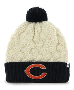 Chicago Bears Women's 47 Brand Natural Matterhorn Cuff Knit Hat