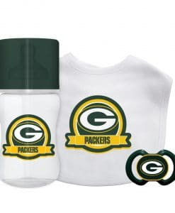 Green Bay Packers Green Baby Gift Set 3 Piece
