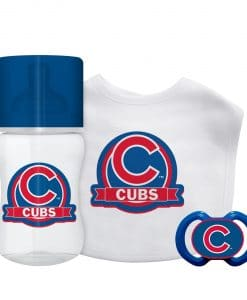 Chicago Cubs Baby Royal Gift Set 3 Piece