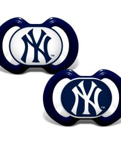 New York Yankees Navy Pacifier 2 Pack
