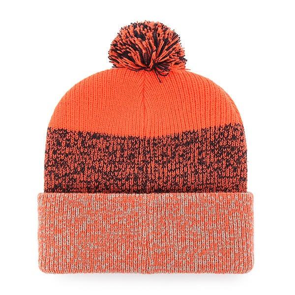 35e6a68537e Chicago Bears 47 Brand Orange Static Cuff Knit Hat - Detroit Game Gear