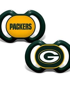 Green Bay Packers Green Pacifier 2 Pack