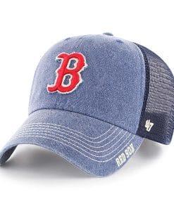 Boston Red Sox 47 Brand Navy Burnstead Mesh Adjustable Hat