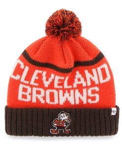 Cleveland Browns 47 Brand Orange Linesman Cuff Knit Hat fd7885080