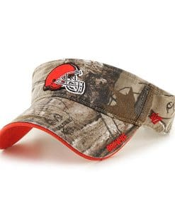 Cleveland Browns 47 Brand Realtree Ice Visor Clean Up Adjustable Hat