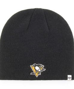 Pittsburgh Penguins 47 Brand Black Beanie Hat