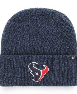 Houston Texans 47 Brand Navy Brain Freeze Cuff Knit Hat