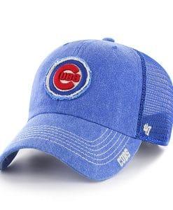 Chicago Cubs 47 Brand Royal Burnstead Mesh Adjustable Hat