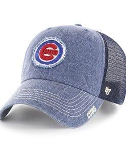 Chicago Cubs 47 Brand Navy Burnstead Mesh Adjustable Hat