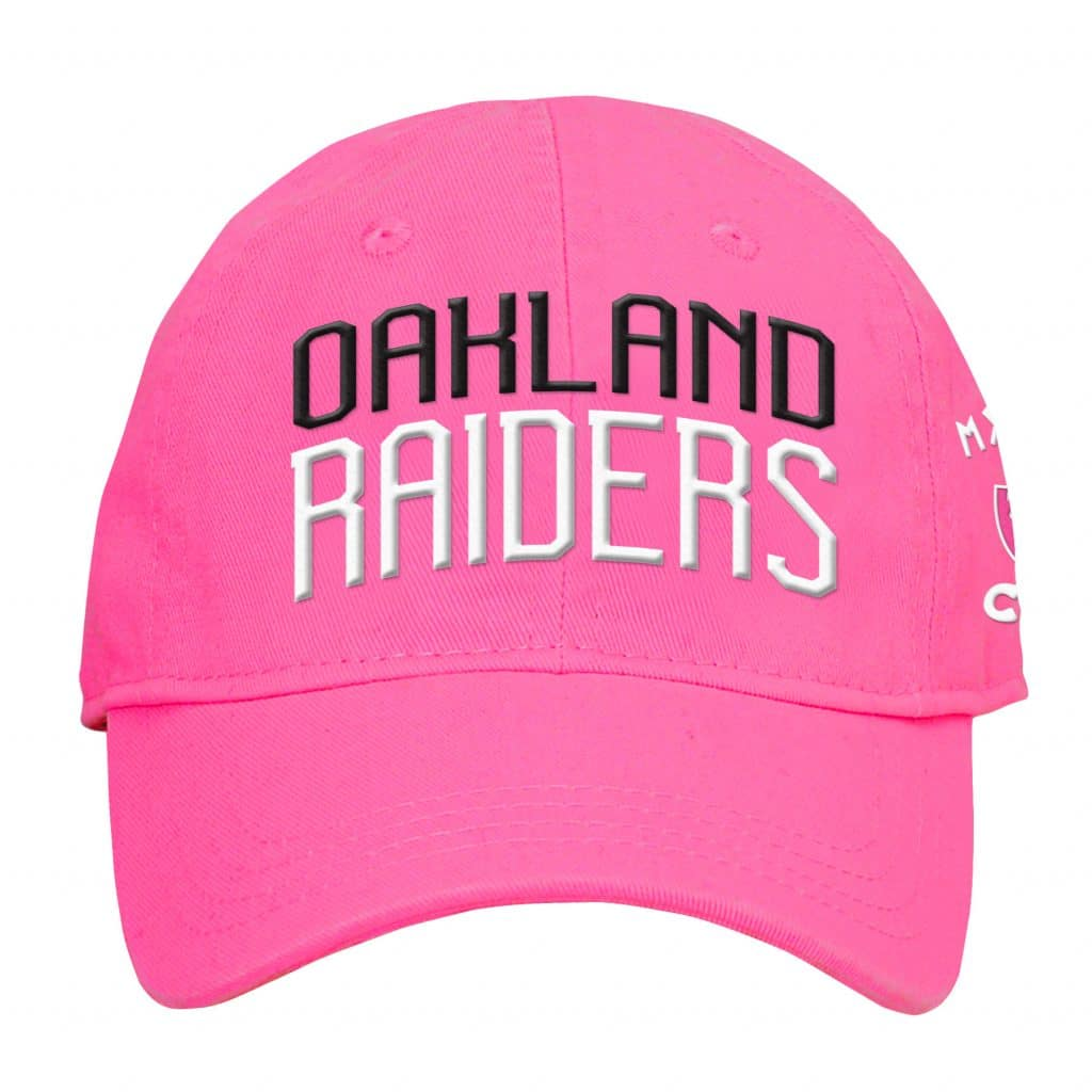 Oakland Raiders INFANT Baby Pink My First Cap Hat - Detroit Game Gear 5c17ccb47cc5