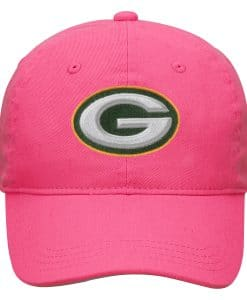 Green Bay Packers TODDLER Baby Pink Adjustable Hat