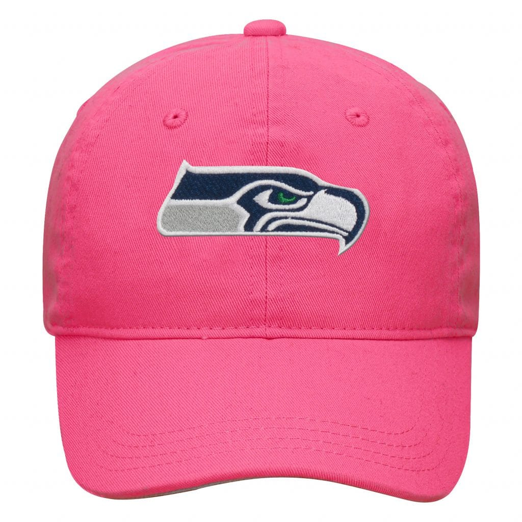 304e03818 Seattle Seahawks INFANT Baby Pink Hat - Detroit Game Gear