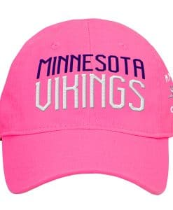 Minnesota Vikings INFANT Baby Pink My First Cap Hat