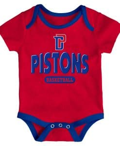 Detroit Pistons Baby Red Onesie Creeper