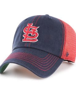 St. Louis Cardinals 47 Brand Trawler Navy Clean Up Adjustable Hat