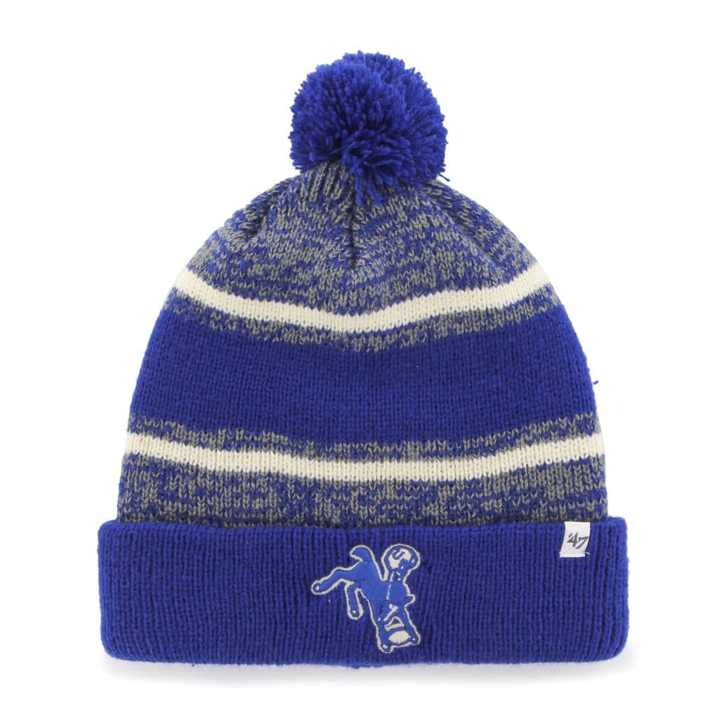 4a64fbd6 Indianapolis Colts 47 Brand Legacy Royal Fairfax Cuff Knit Hat