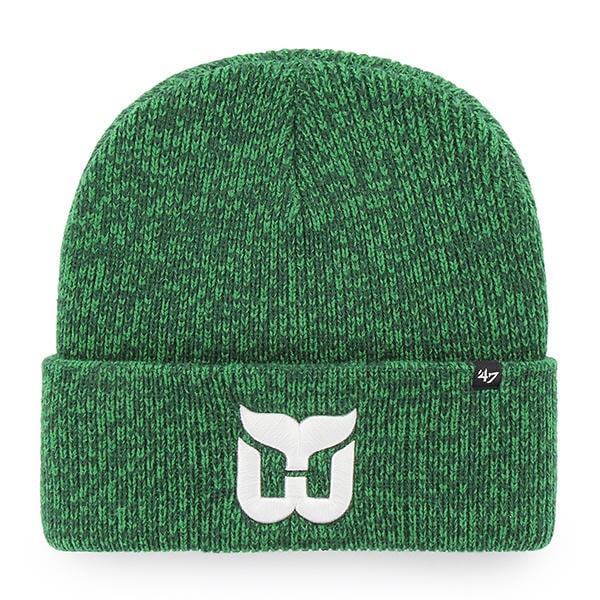 online store 06ef5 99758 Hartford Whalers 47 Brand Green Brain Freeze Vintage Cuff Knit Hat -  Detroit Game Gear