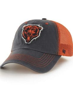 Chicago Bears 47 Brand Navy Taylor Closer Mesh Stretch Fit Hat